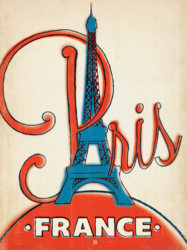 Paris France 1960s