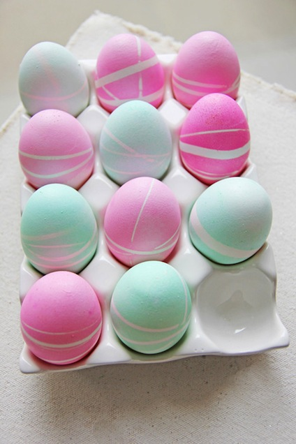 Rubber_Band_Patterned_Easter_Eggs